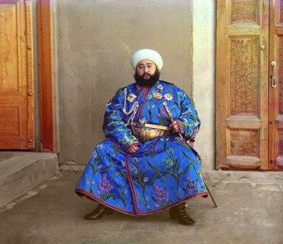 Sergei Mikhailovich Prokudin-Gorskii: The Emir of Bukhara, 1911.