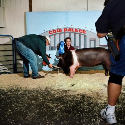 Lisa M. Hamilton, Kiana, Junior Grand National Livestock Show. Daly City, San Mateo County.