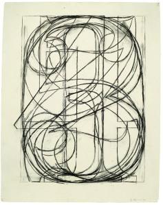 Jasper Johns, 0 through 9, 1960;