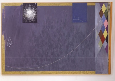 Jasper Johns, Bridge, 1997