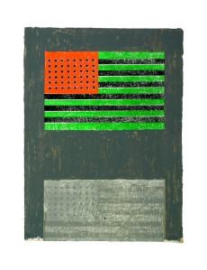Jasper Johns, Flags, 1967–68;