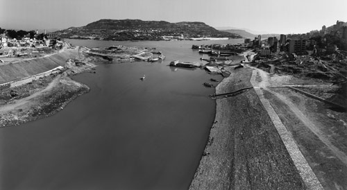 Linda Butler, New Port, Wanxian, 2003, composite