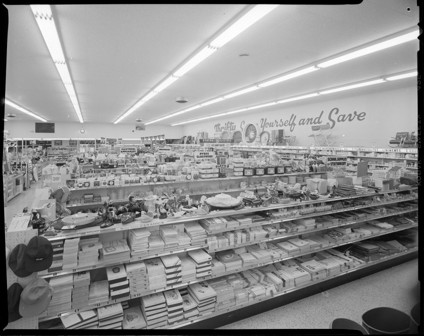 Thrifty Drugs Interior Joseph Fadler 1953