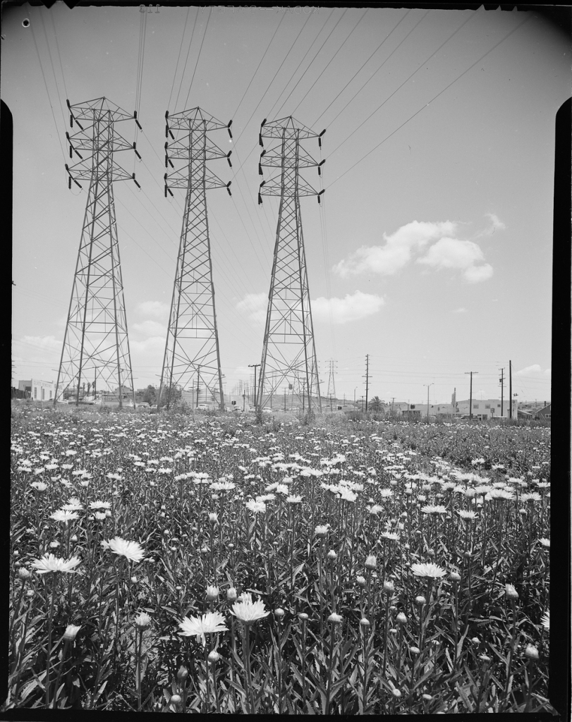 Transmission towers Joseph Fadler 1953