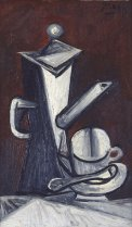 "Pablo Picasso, Nature morte ""la cafetière"" (Still Life ""The Coffee Pot""), 1944."