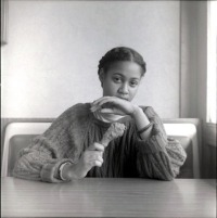 Carrie Mae Weems. Black Woman with Chicken. Ain't Jokin'. 1987-1988