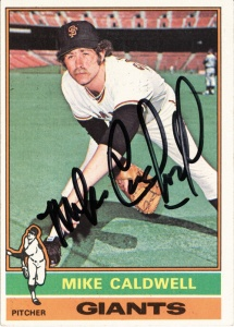 1976 Topps Mike Caldwell