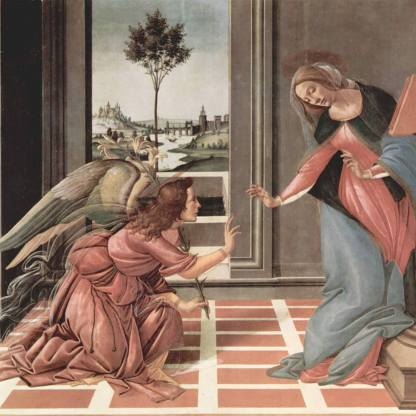 Sandro Botticelli, Cestello Annunciation.