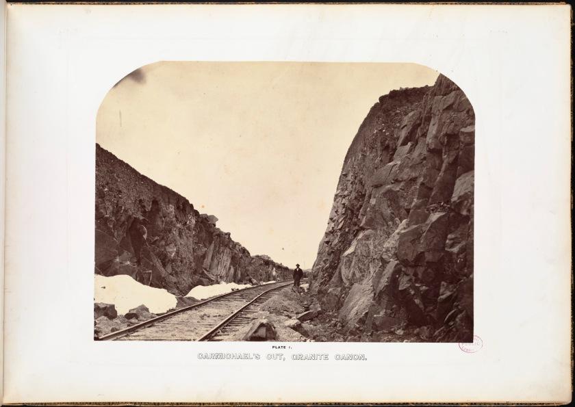 Andrew J. Russell. Carmichael's Cut, Granite Canon.