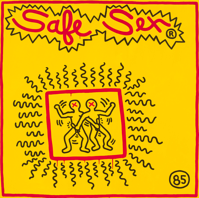 Keith Haring. Untitled, 1985