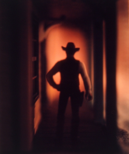 "David Levinthal; Untitled (Wild West Sheriff 11-94), from the series ""The Wild West"""
