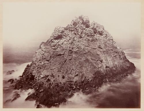 Carleton Watkins. Sugar Loaf Islands and Seal Rocks, Farallons, 1868–69.