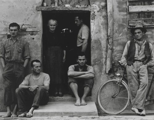Paul Strand. The Family, Luzzara (The Lusettis)