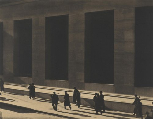 Paul Strand. Wall Street, New York.