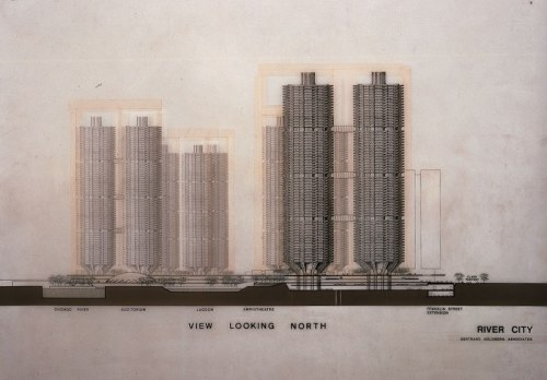 Bertrand Goldberg. River City I, Chicago, Illinois, 1972/79