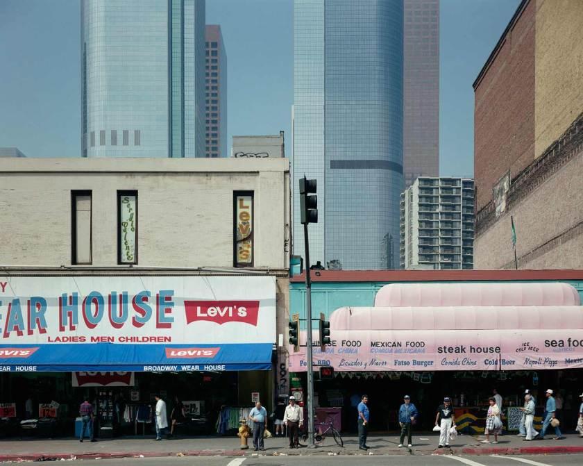 John Humble. 300 Block of Broadway, Los Angeles, October 3, 1980