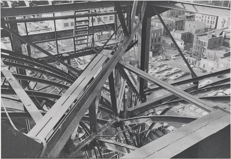 Aaron Rose. Untitled (The demolition of Pennsylvania Station), 1964-1965