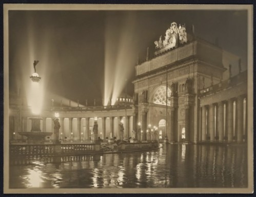 Willard Worden, The Arch of the Rising Sun at Night, 1915