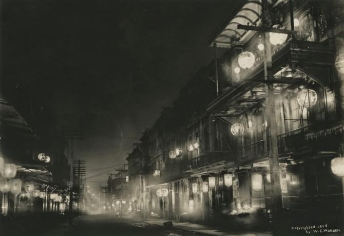 Willard Worden. Midnight in Chinatown 1903