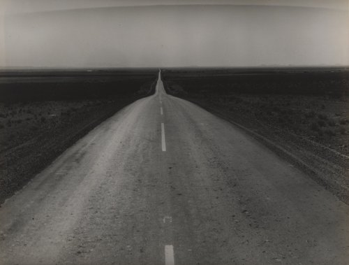 Dorothea Lange, The Road West, U.S. 54 in Southern New Mexico, 1938