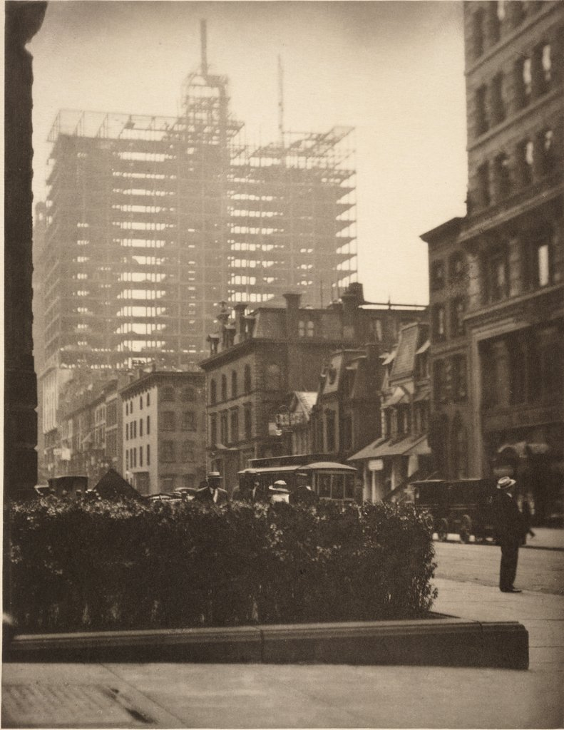 Alfred Stieglitz, Old and New New York, 1910