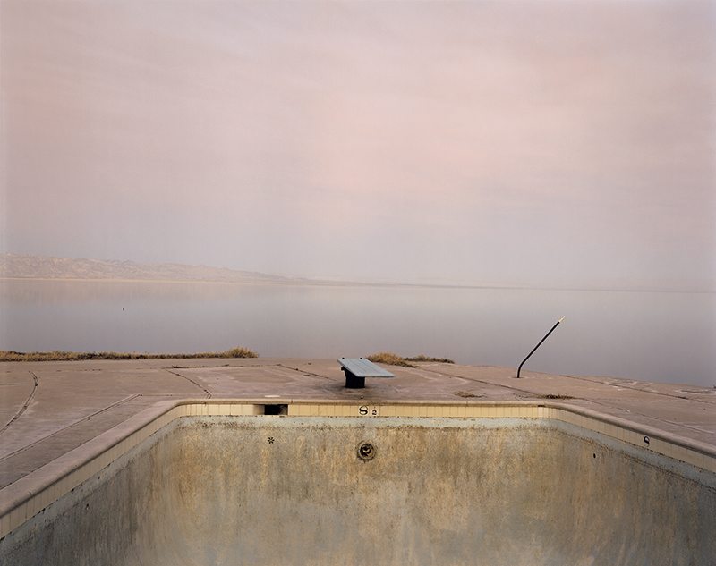 Richard Misrach. Diving Board, Salton Sea, 1983.