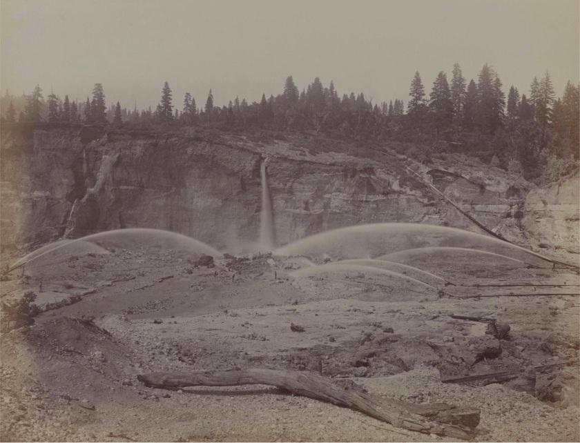 Carleton E. Watkins. Malakoff Diggins, North Bloomfield, Nevada County, Cal., ca. 1871.