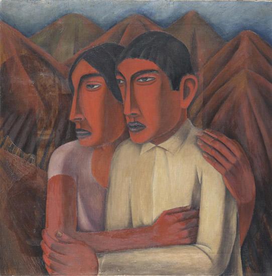Man and Woman Rufino Tamayo, Mexican, 1899 - 1991