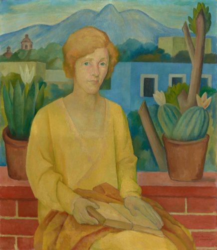 Portrait of Mrs. J. Stogdell Stokes José Diego María Rivera, Mexican, 1886 - 1957