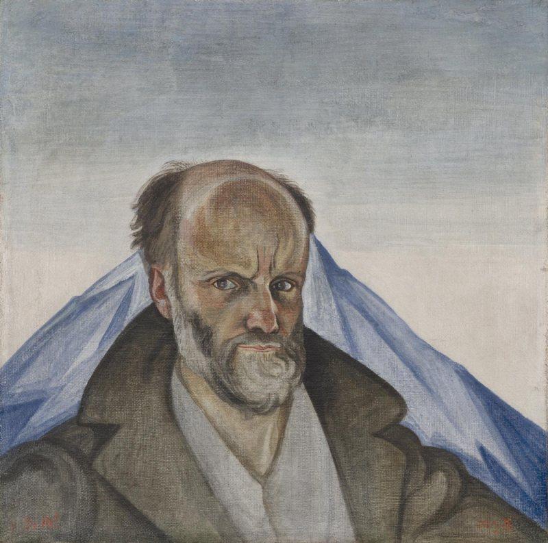 Self-Portrait with Popocatépetl Dr. Atl (Gerardo Murillo), Mexican, 1875 - 1964