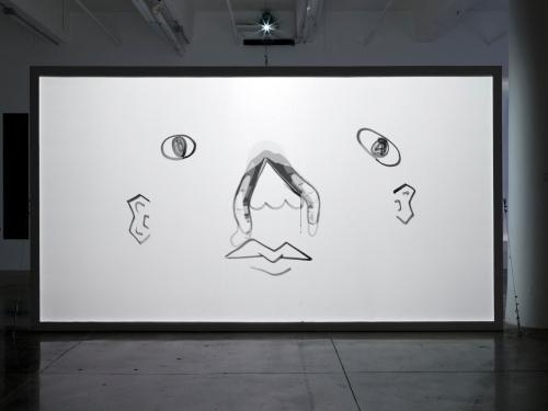 Matthias Brown, Falling Faces, 2017.