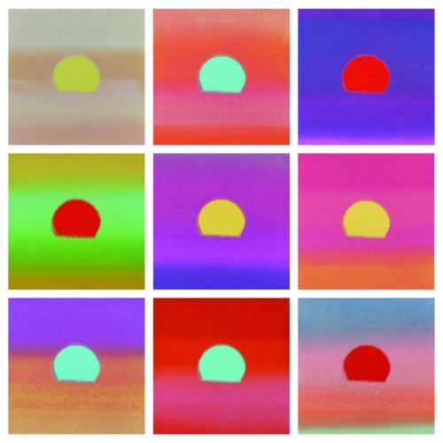 Andy Warhol, Sunset, 1972