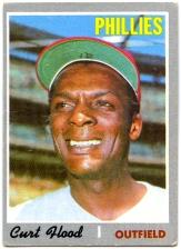 Curt Flood 1970 Topps