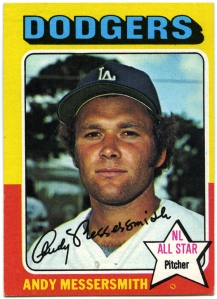 Andy Messersmith 1975 Topps