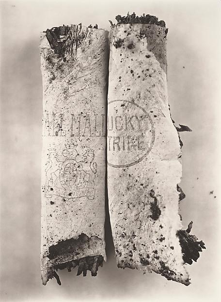 Irving Penn. Cigarette No. 98, New York.