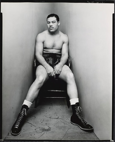 Irving Penn. Joe Louis, New York.