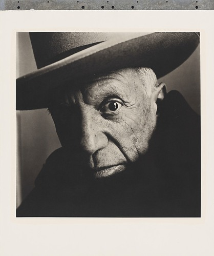 Irving Penn. Pablo Picasso at La Californie, Cannes.