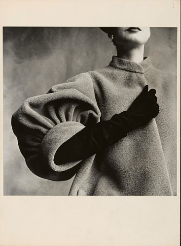 Irving Penn. Balenciaga Sleeve (Régine Debrise), Paris.