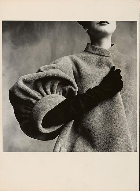 Irving Penn. Balenciaga Sleeve (Régine Debrise), Paris.