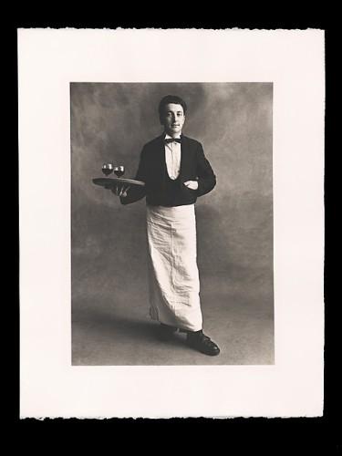 Irving Penn. Garçon de Café.