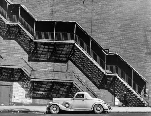 Todd Webb. Mr. Perkin's Pierce Arrow, New York, 1946.