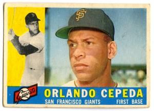Orlando Cepeda 1960 Topps
