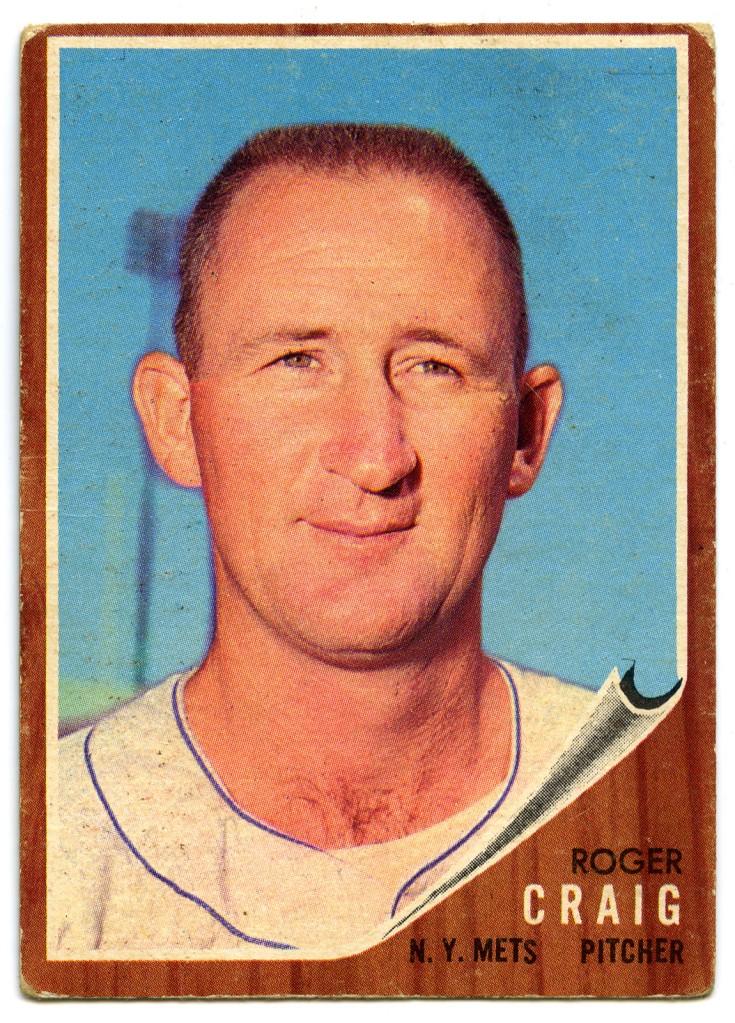 Roger Craig 1962 Topps