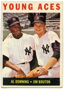 Young Aces: Al Downing and Jim Bouton 1964 Topps