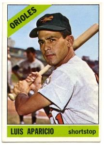 Luis Aparicio 1966 Topps