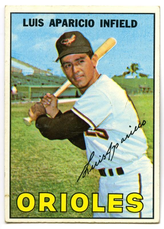 Luis Aparicio 1967 Topps