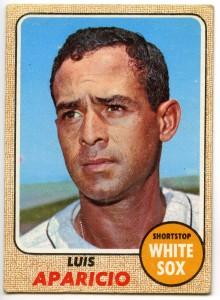 Luis Aparicio 1968 Topps