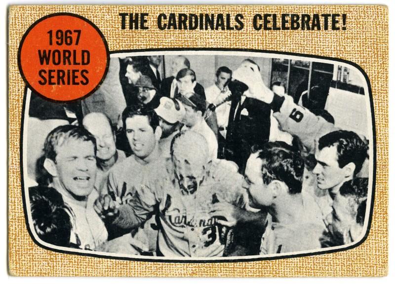 Cardinals Celebrate 1968 Topps