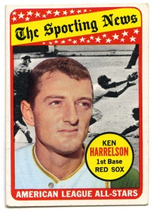 Ken Harrelson All Star 1969 Topps