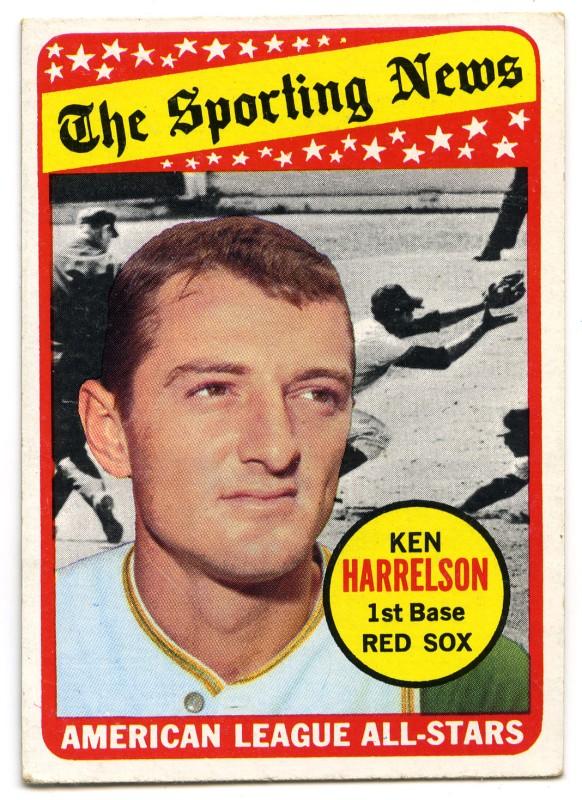 Ken Harrelson All Star 1969 Topps